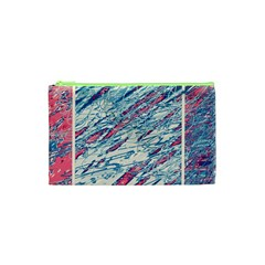 Colorful pattern Cosmetic Bag (XS)