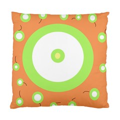 Green and orange design Standard Cushion Case (One Side)