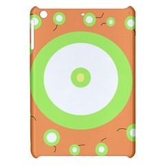 Green and orange design Apple iPad Mini Hardshell Case