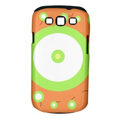 Green and orange design Samsung Galaxy S III Classic Hardshell Case (PC+Silicone)