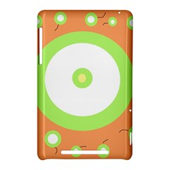 Green and orange design Nexus 7 (2012)