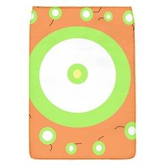 Green and orange design Flap Covers (S)
