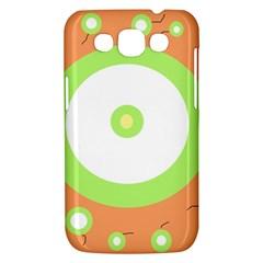 Green and orange design Samsung Galaxy Win I8550 Hardshell Case