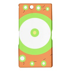 Green and orange design Sony Xperia Z Ultra