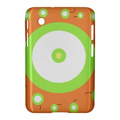 Green and orange design Samsung Galaxy Tab 2 (7 ) P3100 Hardshell Case