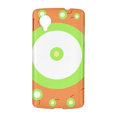 Green and orange design LG Nexus 5