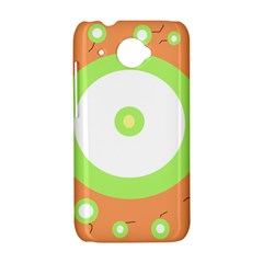 Green and orange design HTC Desire 601 Hardshell Case