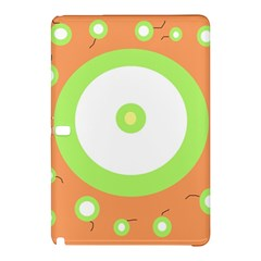 Green and orange design Samsung Galaxy Tab Pro 12.2 Hardshell Case