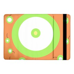 Green and orange design Samsung Galaxy Tab Pro 10.1  Flip Case