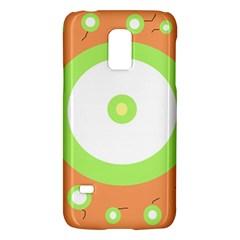 Green and orange design Galaxy S5 Mini