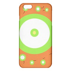 Green and orange design iPhone 6 Plus/6S Plus TPU Case