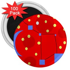 Red sky 3  Magnets (100 pack)