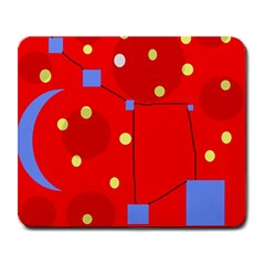 Red sky Large Mousepads