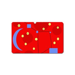 Red sky Magnet (Name Card)