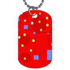 Red sky Dog Tag (One Side)