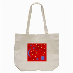 Red Sky Tote Bag (cream)