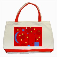 Red sky Classic Tote Bag (Red)