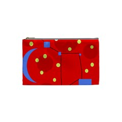 Red sky Cosmetic Bag (Small)