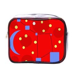 Red sky Mini Toiletries Bags