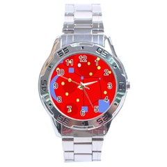 Red sky Stainless Steel Analogue Watch
