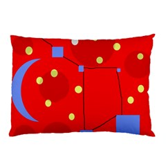 Red sky Pillow Case (Two Sides)