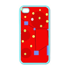 Red sky Apple iPhone 4 Case (Color)