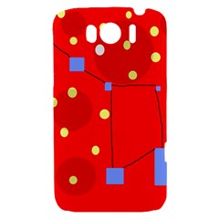 Red sky HTC Sensation XL Hardshell Case