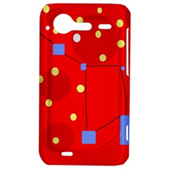 Red sky HTC Incredible S Hardshell Case