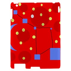 Red sky Apple iPad 2 Hardshell Case