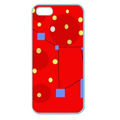 Red sky Apple Seamless iPhone 5 Case (Color)
