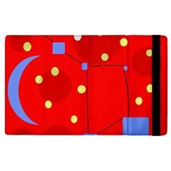 Red sky Apple iPad 2 Flip Case