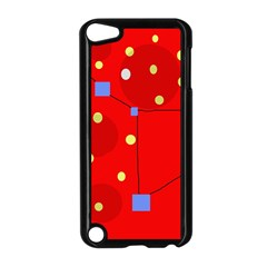 Red sky Apple iPod Touch 5 Case (Black)