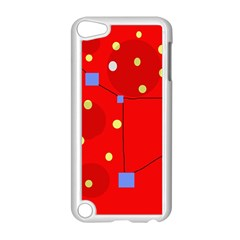 Red sky Apple iPod Touch 5 Case (White)
