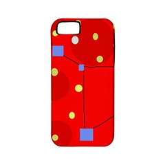 Red sky Apple iPhone 5 Classic Hardshell Case (PC+Silicone)
