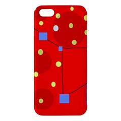 Red sky Apple iPhone 5 Premium Hardshell Case