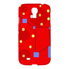 Red sky Samsung Galaxy S4 I9500/I9505 Hardshell Case