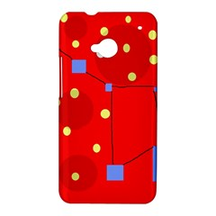 Red sky HTC One M7 Hardshell Case
