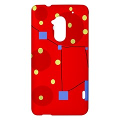 Red sky HTC One Max (T6) Hardshell Case