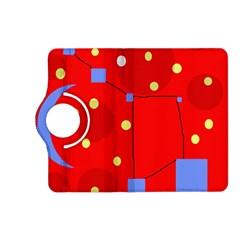 Red sky Kindle Fire HD (2013) Flip 360 Case