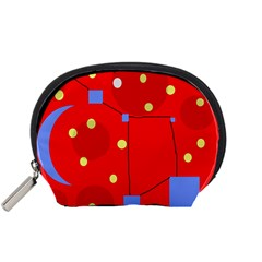 Red sky Accessory Pouches (Small)