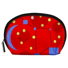 Red sky Accessory Pouches (Large)