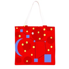 Red sky Grocery Light Tote Bag