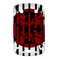 Red, black and white decorative abstraction Bold Touch 9900 9930