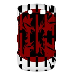 Red, black and white decorative abstraction Torch 9800 9810