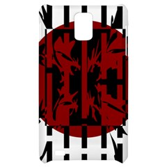 Red, black and white decorative abstraction Samsung Infuse 4G Hardshell Case