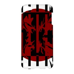 Red, black and white decorative abstraction Apple iPod Touch 5 Hardshell Case