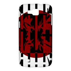 Red, black and white decorative abstraction Samsung Galaxy Premier I9260 Hardshell Case