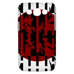 Red, black and white decorative abstraction Samsung Galaxy Win I8550 Hardshell Case