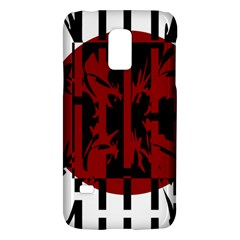 Red, black and white decorative abstraction Galaxy S5 Mini