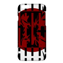 Red, black and white decorative abstraction Apple iPhone 6 Plus/6S Plus Hardshell Case